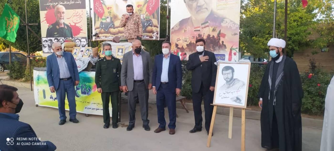 مراسم غبار روبی و عطرافشانی مزار شهدا رزن و مراسم آبروی محله یادواره شهید مصطفوی در شهر دمق برگزار شد.