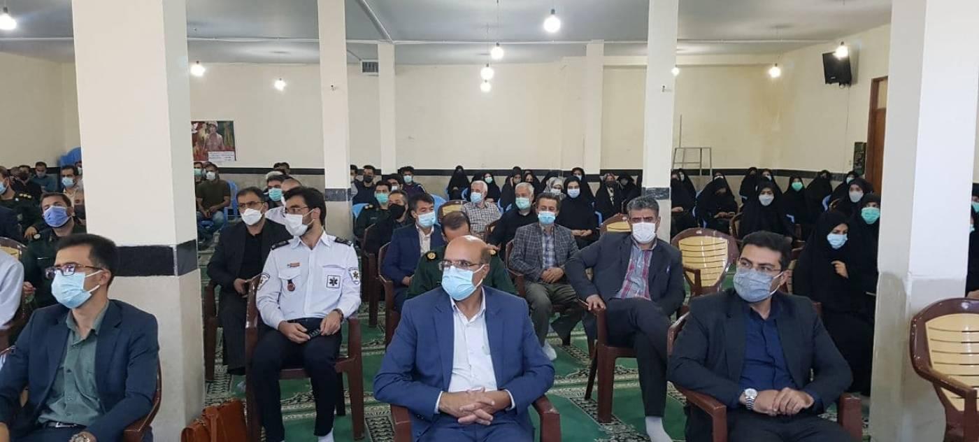 #هم اکنون  دیدار فرماندار و اعضای شورای تامین تعدادی از روسای ادارات  با امام جمعه شهرستان تویسرکان  به مناسبت گرامیداشت هفته دفاع مقدس