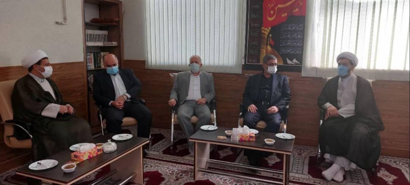دیدار استاندار همدان با علما و روحانیون شهرستان ملایر
