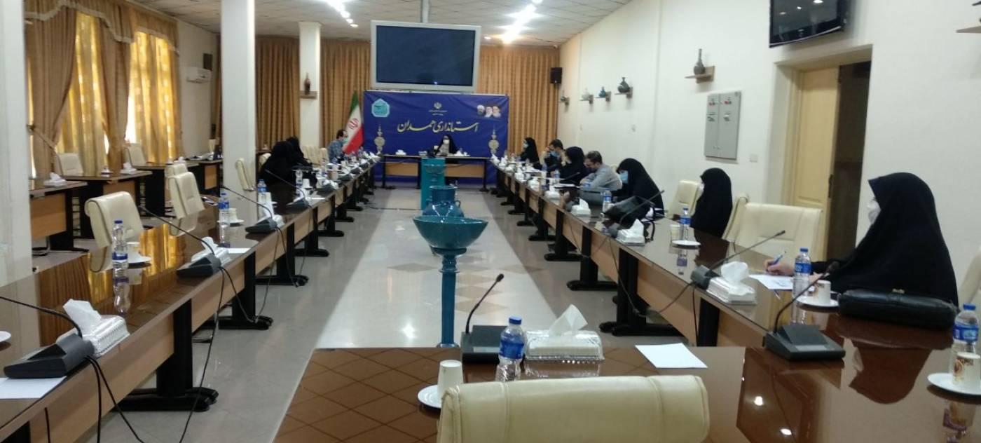 جلسه گروه کاری بررسی موضوع شورای فرهنگی عمومی  استان