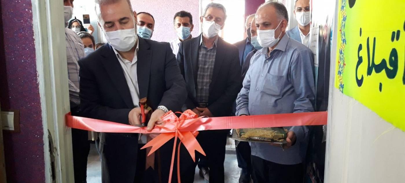 کتابخانه روستای آقبلاغ از توابع شهرستان بهار افتتاح و مورد بهره برداری قرار گرفت