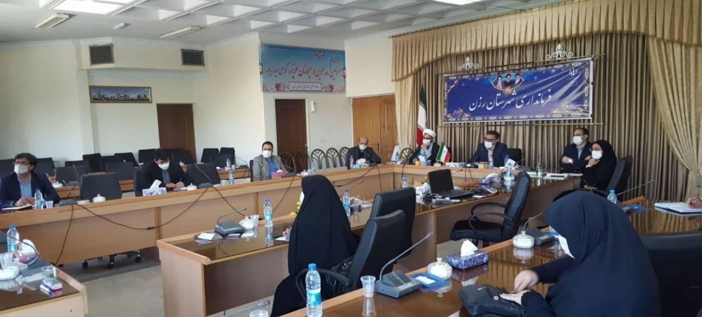 جلسه شورای اقامه نماز استان همدان