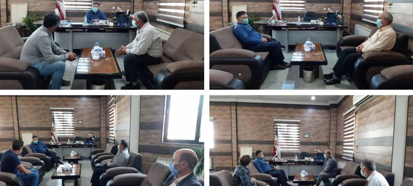 برگزاری برنامه دیدار و ملاقات مردمی مهندس سلامتی فرماندار شهرستان رزن
