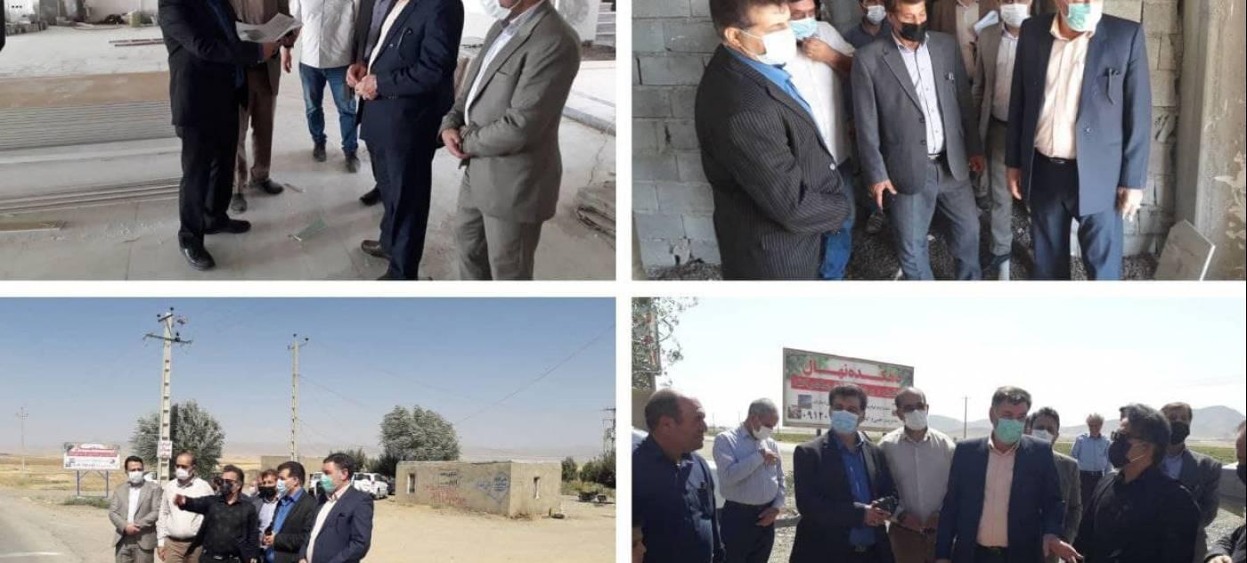 ازديد از روند ساخت هتل توسط مهندس سلامتی فرماندار رزن به همراه مدیر کل میراث فرهنگی ، گردشگری وصنایع دستی استان همدان