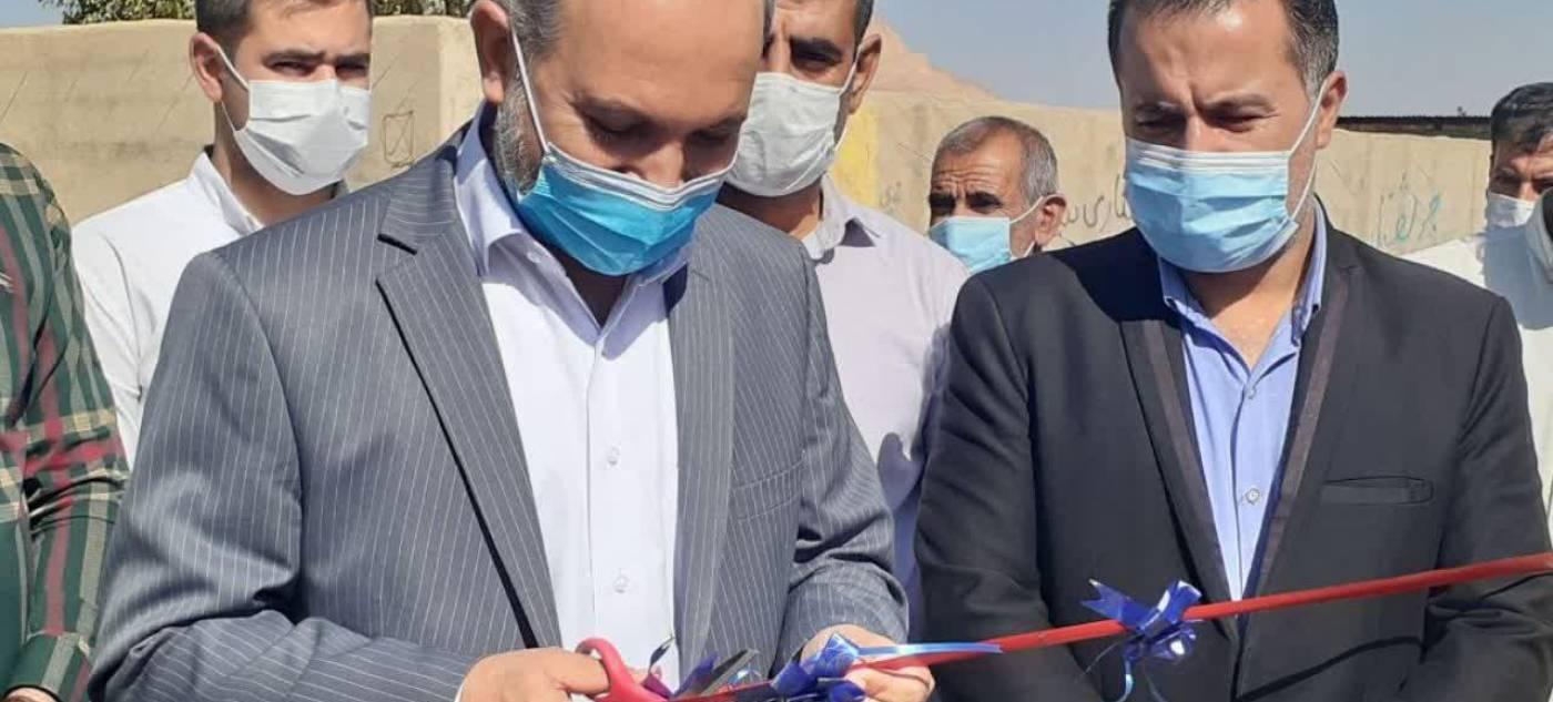 پروژه آسفالت روستای قراقیه به بهره برداری رسید.