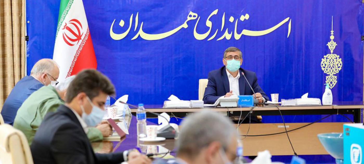 استاندار همدان: ميزان رعايت پروتکلهاي بهداشتي در استان 84 درصد است