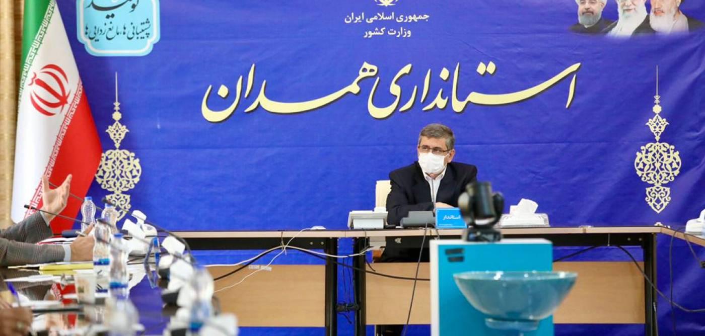 استاندار همدان: از ظرفیتهای استان برای مقابله با کرونا استفاده می شود