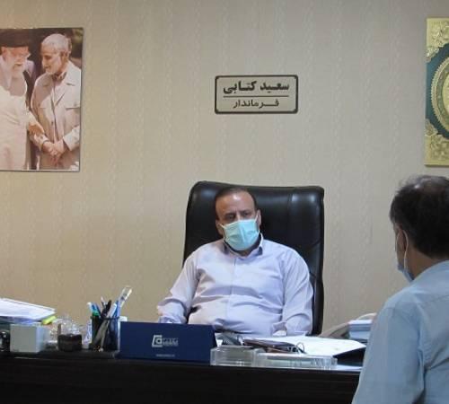 برگزاری برنامه ملاقات مردمی باعنوان میز خدمت با حضور سعید کتابی فرماندار اسدآباد