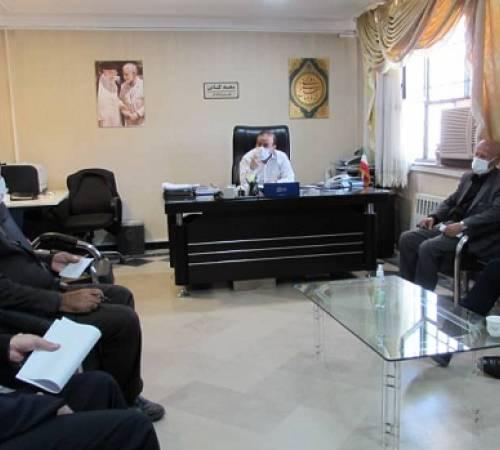 جلسه بررسی و پیگیری مسائل مرتبط با شهرداری اسدآباد